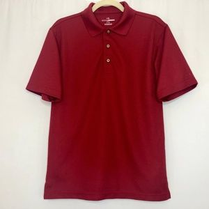 Grand Slam Golf Maroon Polo Shirt Men's Size Small